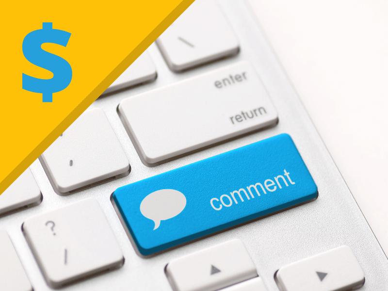 Werbung machen in Blogs durch Affiliate-Links in den Kommentaren?